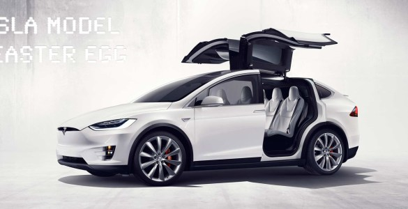 Tesla Model X Easter Egg