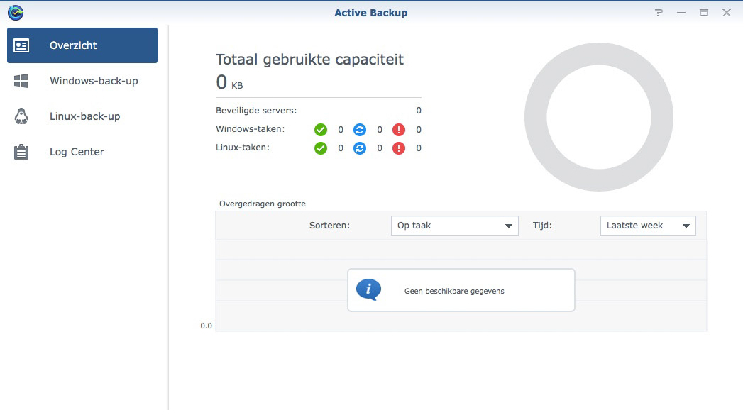 Synology Active Backup beta: Backups maken van Windows en
