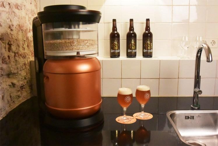MiniBrew, een apparaat om je eigen bier te maken