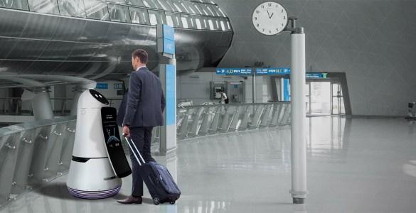 LG vliegveld robot