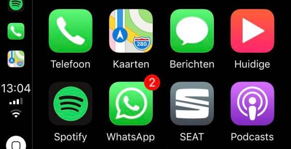 WhatsApp Apple CarPlay 04