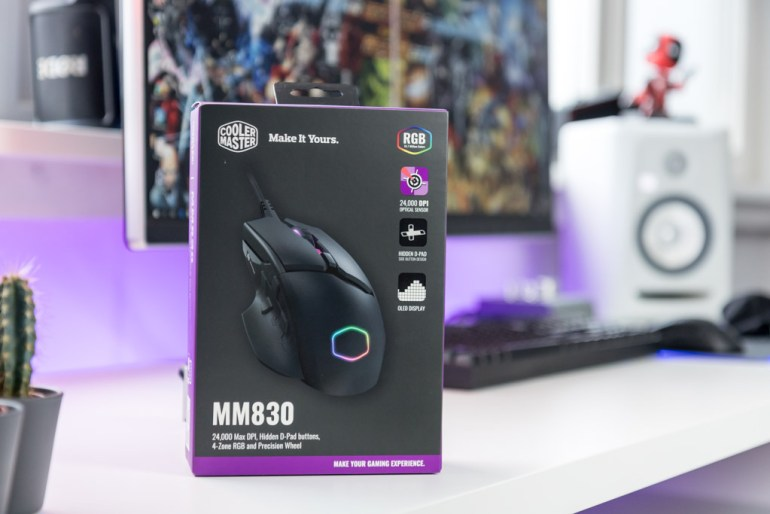 Cooler Master MM830 tech365nl 001