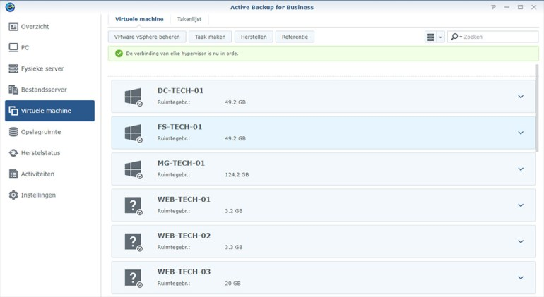 Synology Active Backup Restore 01