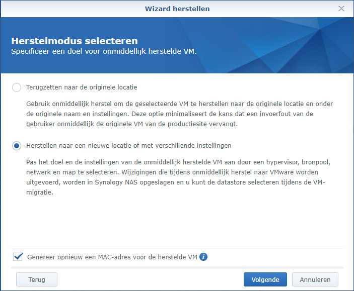 Synology Active Backup Restore 04