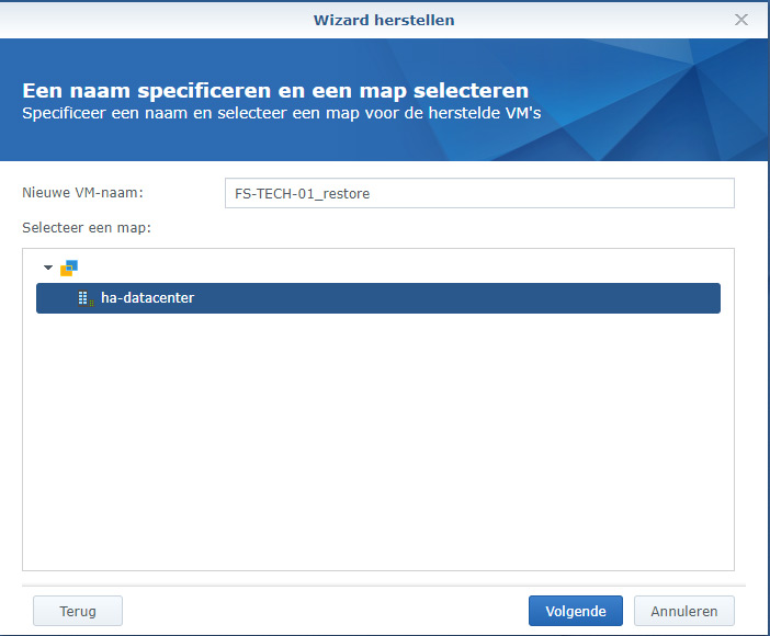 Synology Active Backup Restore 05