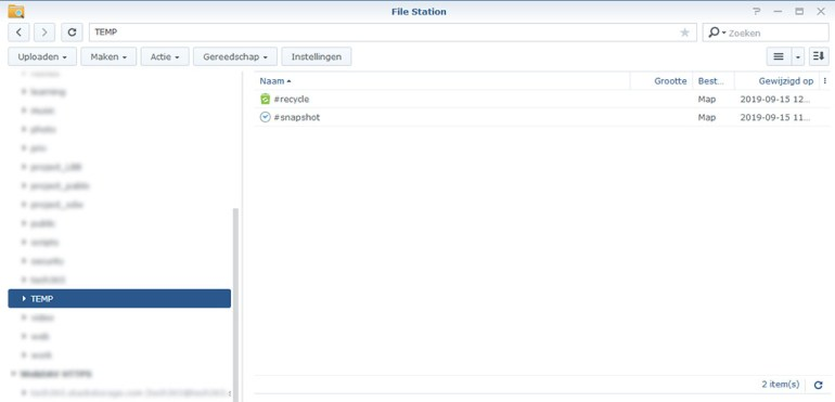 Synology Snapshot Replication 10
