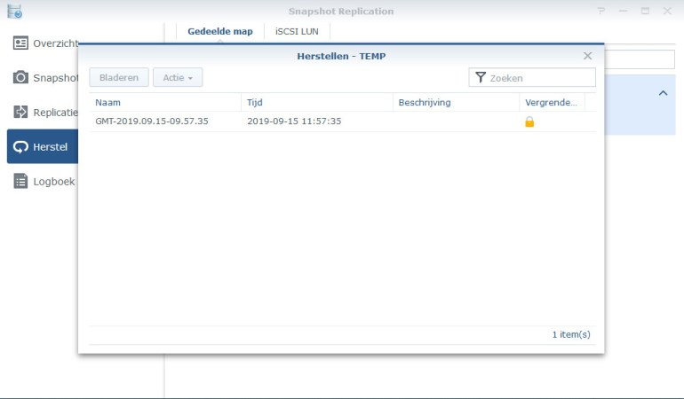 Synology Snapshot Replication 12