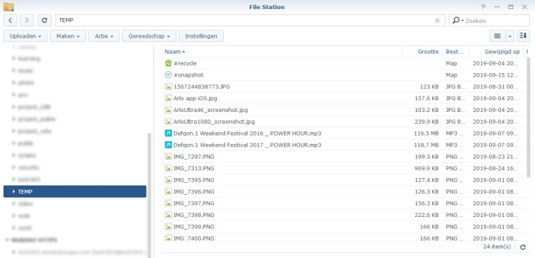 Synology Snapshot Replication 15