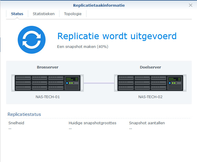 Synology Snapshot Replication 28
