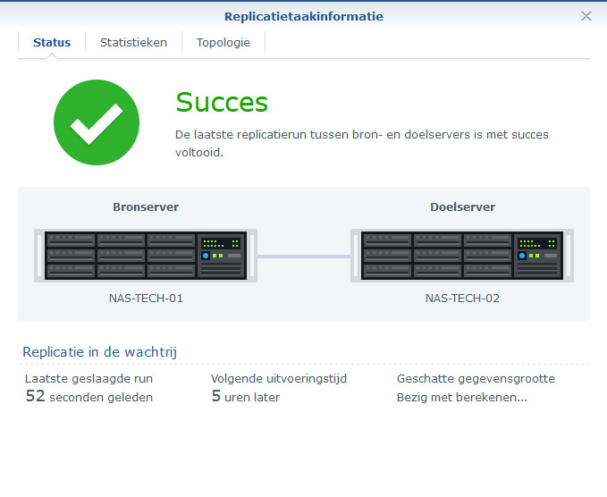 Synology Snapshot Replication 30