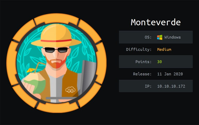 Hack The Box Monteverde