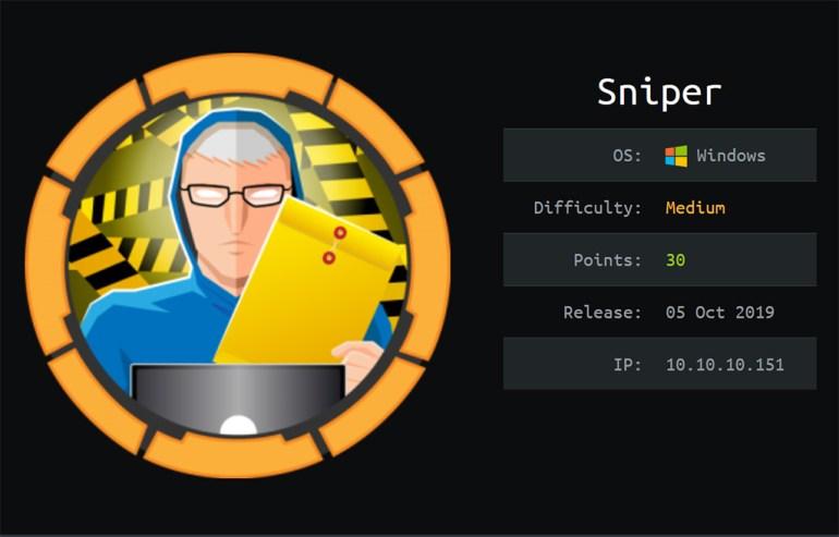 Hack the Box Sniper