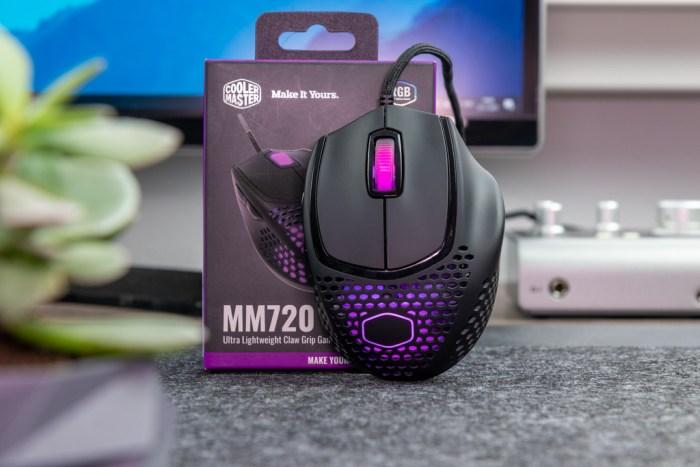 MM720 uit de verpakking