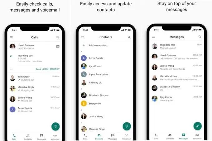 Google Voice cambia faccia su iOS. Presto nuova grafica
