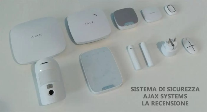 sistema di sicurezza e antifurto smart ajax systems