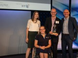 Community Impact Award winners, WIMPS