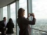 Attendees capture the incredible views from the top of BT Tower
