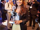 Krishma Nayee, what3words, with her Award