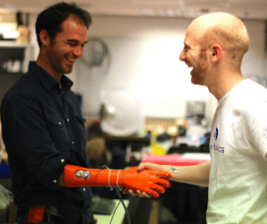 Open Bionics make bionic limbs available