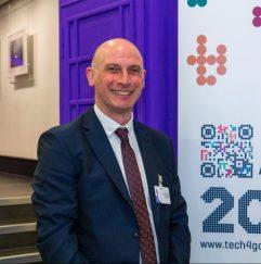 Mark Walker of AbilityNet, organiser of the AbilityNet Tech4Good Awards