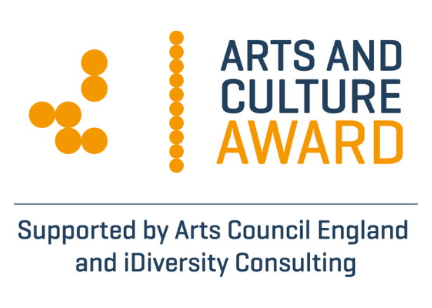Arts & Culture Award supported by Arts Council England and iDiversity Consulting