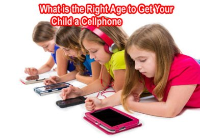 What Is The Right Age To Get Your Child A Cellphone?