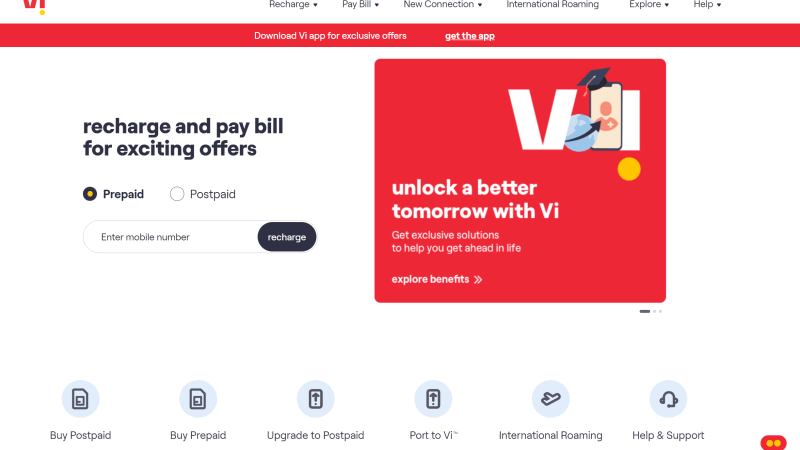 Vi Postpaid Plans – ₹399, ₹499, ₹699, ₹1099 | Plan of ₹699 & above provides you unlimited data