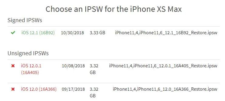 iphone ios 12.0.1