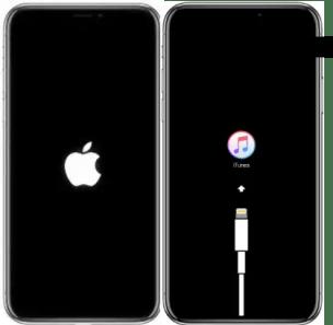 fix boot loop iphone
