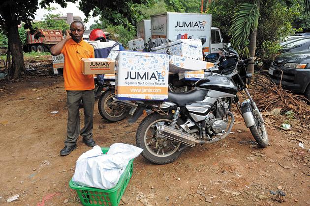 Jumia's Bodaboda Rider
