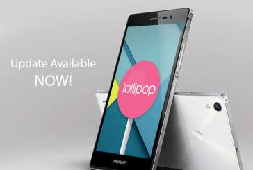 Android Lollipop Update For Huawei P7 Now Available