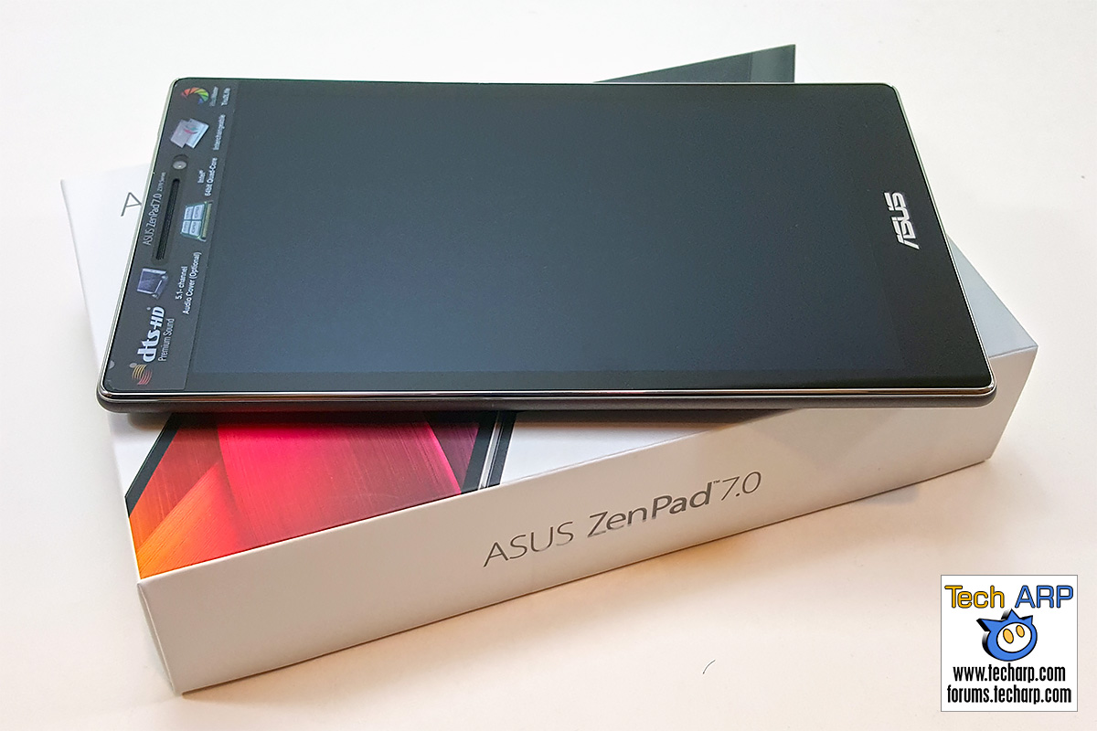 ASUS ZenPad 7.0 (Z370CG) Tablet - Front