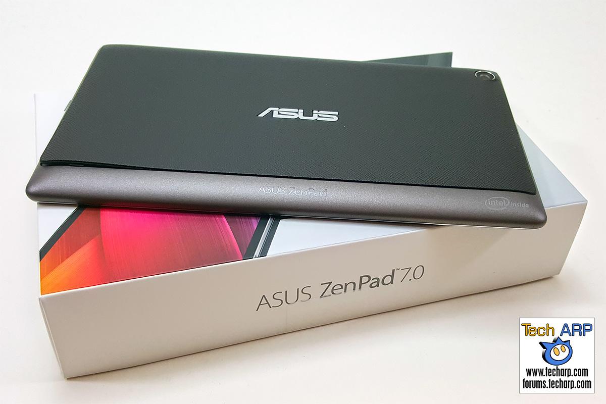ASUS ZenPad 7.0 (Z370CG) Tablet - Back
