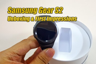 Samsung Gear S2 – Unboxing & First Impressions
