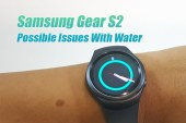 Samsung Gear S2 Issues With Water Rev. 3.0