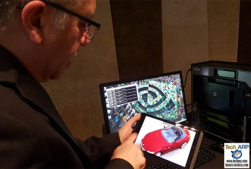 "NVIDIA Iray ""Predictive Design"" Demo On Shield Tablet"