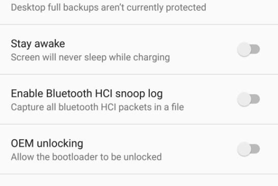 Huawei Nexus 6P Tips - Developer Options