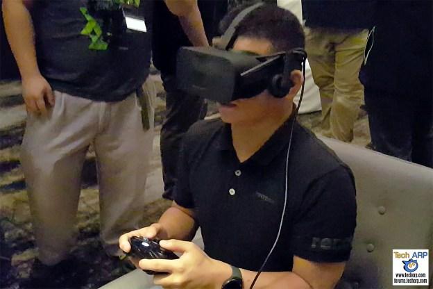 Oculus CV1 & HTC Vive Virtual Reality Test Drive