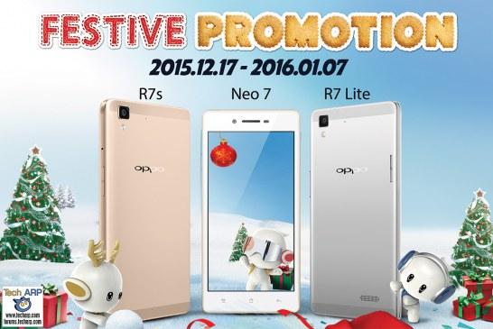 Buy Any OPPO Smartphone & Win A Perodua Myvi