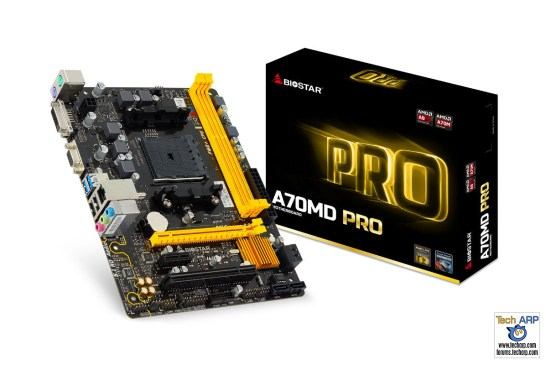 BIOSTAR PRO Series AMD Motherboards Launched