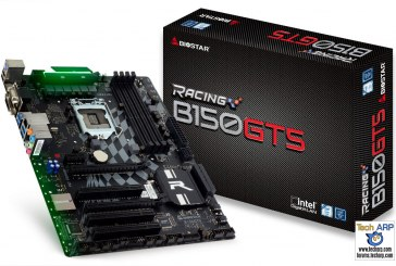 BIOSTAR RACING B150GT5 Motherboard Launched