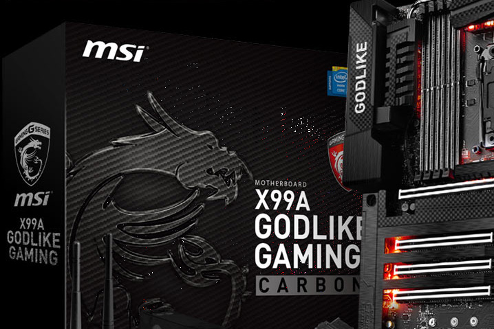 MSI Carbon Edition X99A & Z170A Motherboards Launched