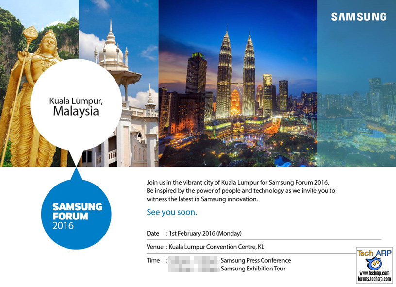 Samsung Forum 2016 To Showcase New Samsung Products