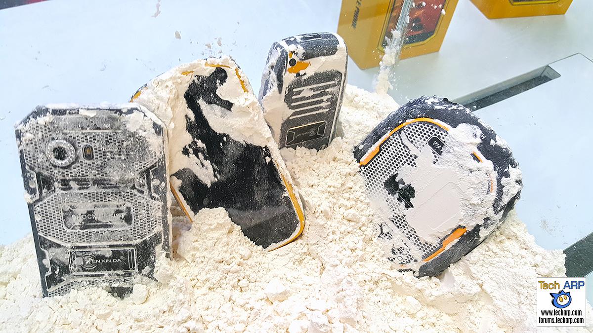 Kenxinda Ruggedised Smartphones In Flour