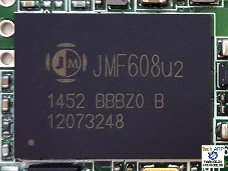 JMicron JMF608 NAND flash controller