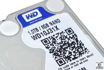 WD Blue SSHD (WD10J31X) 1TB Review Rev. 2.0