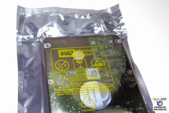 WD Blue SSHD (WD10J31X) 1TB Packaging