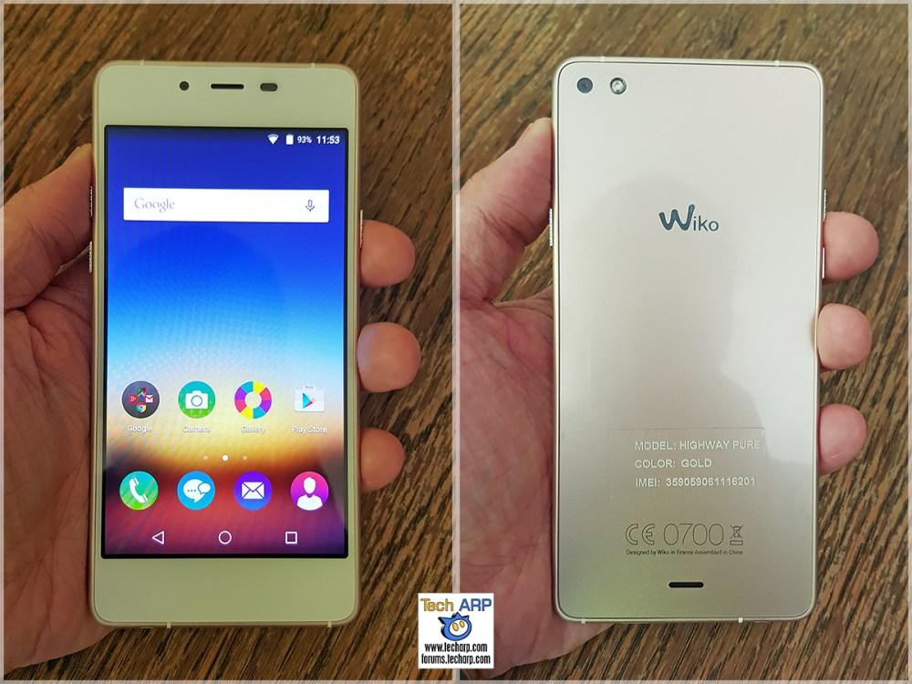 Wiko Highway Pure Smartphone