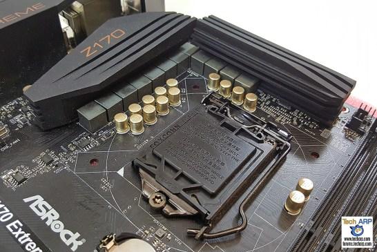 ASRock Z170 Extreme4 CPU socket