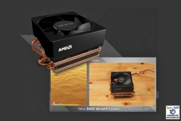 AMD Wraith Cooler Delivers Better Cooling With Less Noise